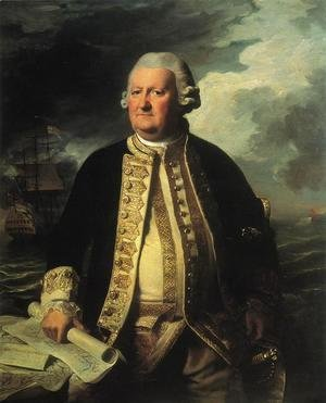John Singleton Copley - Clark Gayton, Admiral of the White