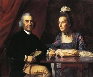 John Singleton Copley - Mr. and Mrs. Isaac Winslow (Jemina Debuke)