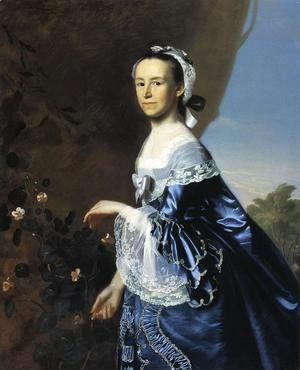 John Singleton Copley - Mrs. James Warren (Mercy Otis)