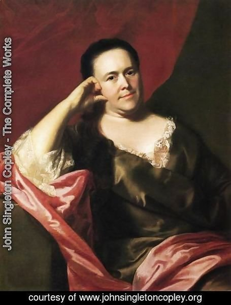 John Singleton Copley - Mrs. John Scoally (Mercy Greenleaf)