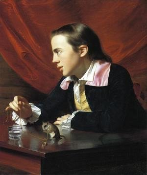 John Singleton Copley - Boy with a Squirrel (or Henry Pelham)