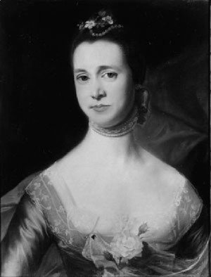John Singleton Copley - Mrs. Edward Green (Mary Storer)