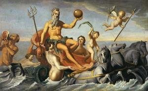 John Singleton Copley - The Return of Neptune