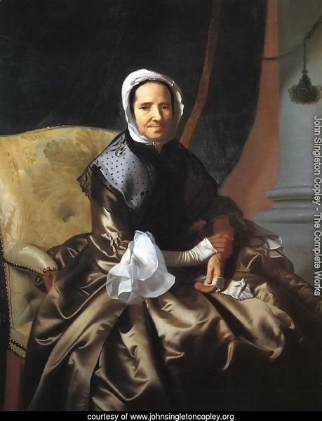 Mrs Thomas Boylston, 1766