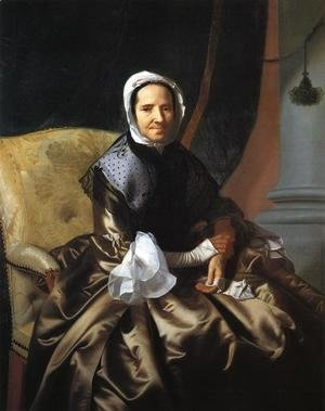 John Singleton Copley - Mrs Thomas Boylston, 1766