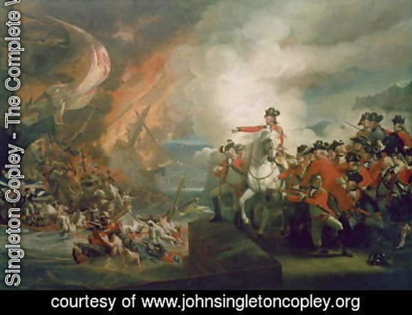 John Singleton Copley - The Defeat of the Floating Batteries at Gibraltar, September 1782, 1783-91
