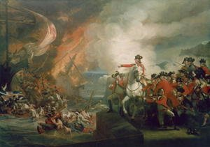 The Defeat of the Floating Batteries at Gibraltar, September 1782, 1783-91