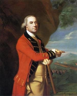 John Singleton Copley - Portrait of General Thomas Gage, c.1768