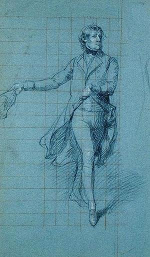 John Singleton Copley - Captain W. Fairfax, figure study for the painting of Victory of Lord Duncan