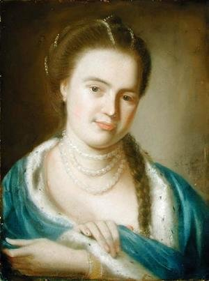 John Singleton Copley - Portrait of Mrs Gawen Brown (Elizabeth Byles), 1763