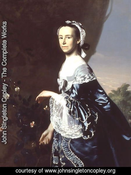 Mrs James Warren (Mercy Otis) c.1763