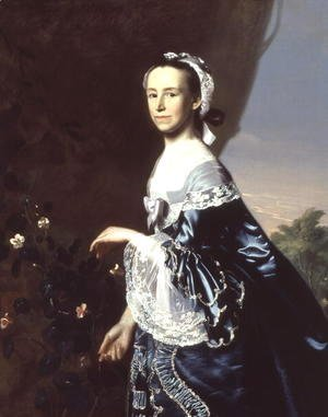John Singleton Copley - Mrs James Warren (Mercy Otis) c.1763