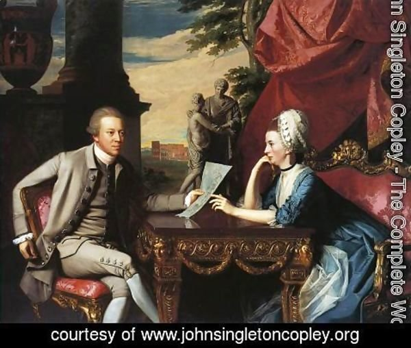 John Singleton Copley - Mr and Mrs Ralph Izard (Alice Delancey) 1775