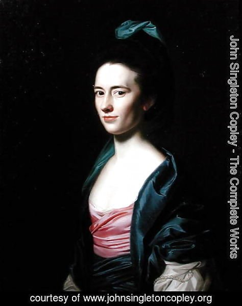 John Singleton Copley - Portrait of Frances Montresor of New York, (1744-1826) 1771