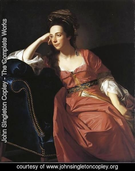 John Singleton Copley - Mrs. Thomas Gage, 1771