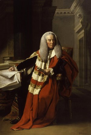 John Singleton Copley - Portrait of William Murray (1705-93), 1st Earl of Mansfield, 1782-83