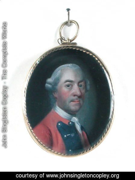 John Singleton Copley - Miniature portrait of Sir John St. Clair