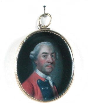 Miniature portrait of Sir John St. Clair