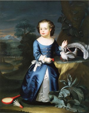 John Singleton Copley - Thomas Aston Coffin