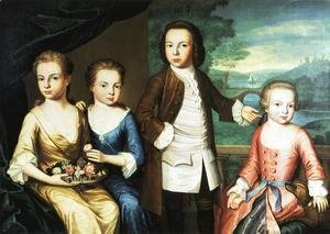 John Singleton Copley - The Gore Children