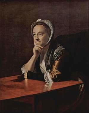 John Singleton Copley - Mrs. Humphrey Devereux (Mary Charnock)