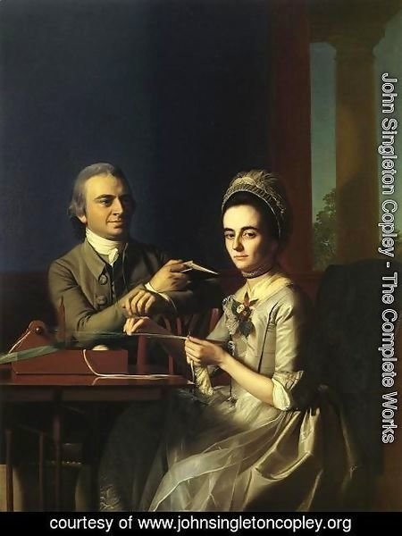 John Singleton Copley - Mr. and Mrs Thomas Mifflin (Sarah Morris)
