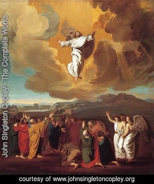 John Singleton Copley - The Ascension