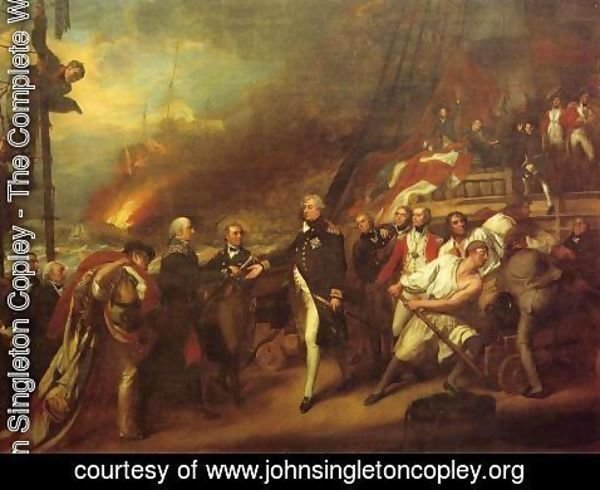 John Singleton Copley - The Victory of Lord Duncan