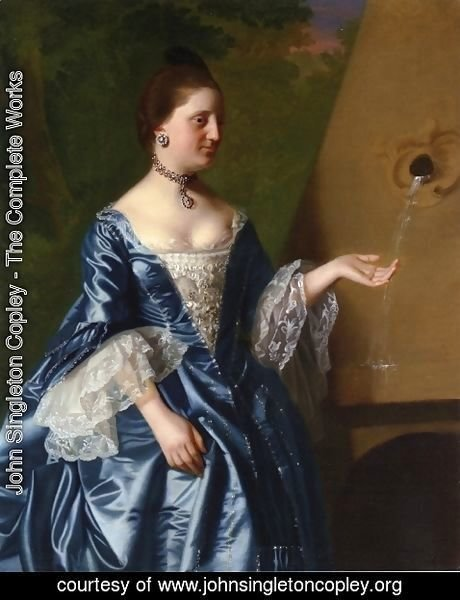 John Singleton Copley - Mrs. Alice Hooper