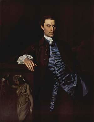 Portrait of Thaddeus Burr