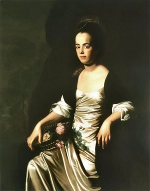 John Singleton Copley - Portrait of Mrs. John Stevens (Judith Sargent, later Mr. John Murray)