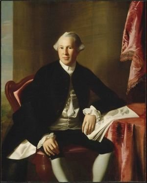 John Singleton Copley - Portrait of Joseph Warren