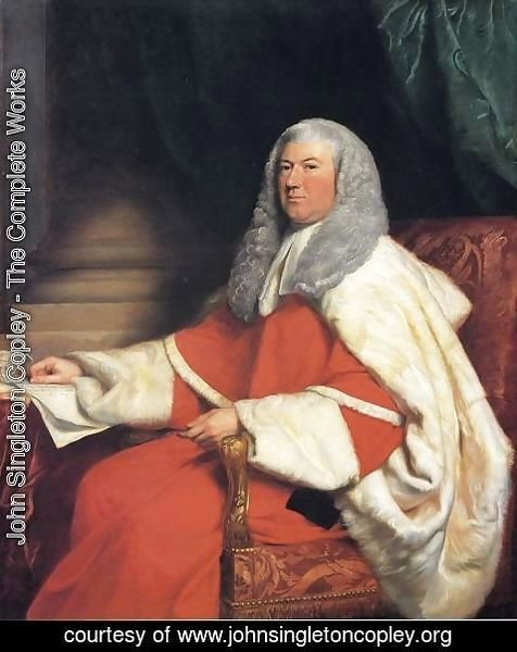John Singleton Copley - George John  Second Earl Spencer