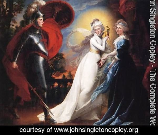 John Singleton Copley - The Red Cross Knight