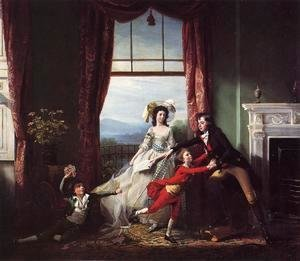 John Singleton Copley - The Stillwell Family