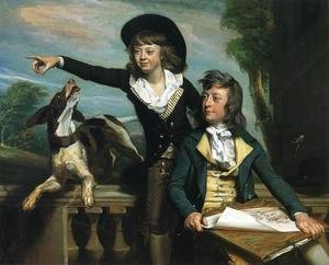 John Singleton Copley - Charles Callis Western And His Brother Shirley Western
