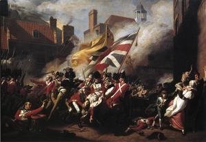 John Singleton Copley - The Death Of Major Pierson