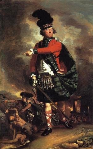 John Singleton Copley - Major Hugh Montgomerie