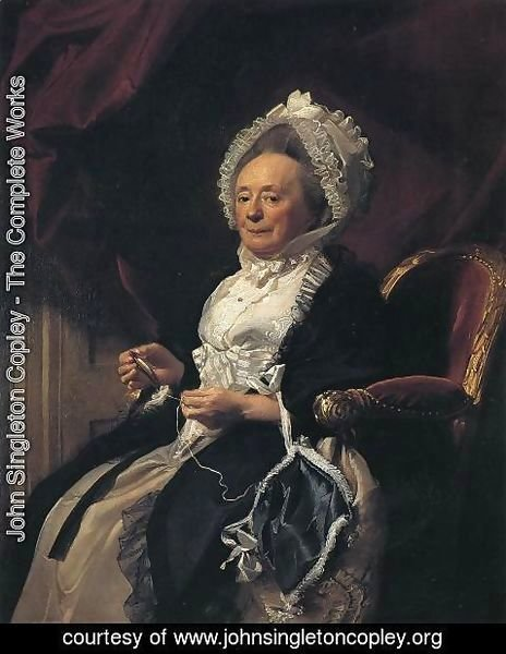 John Singleton Copley - Mrs  Seymour Fort