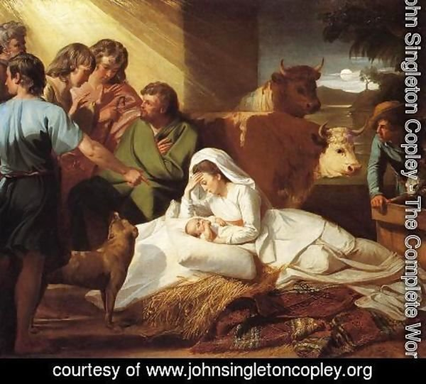 John Singleton Copley - The Nativity