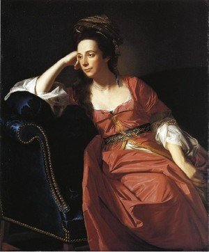 John Singleton Copley - Mrs  Thomas Gage Margaret Kemble