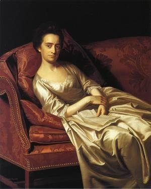 John Singleton Copley - Portrait Of A Lady