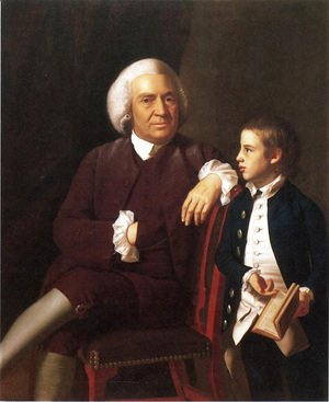 John Singleton Copley - William Vassall And His Son Leonard