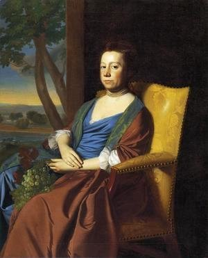 John Singleton Copley - Mrs  Isaac Smith