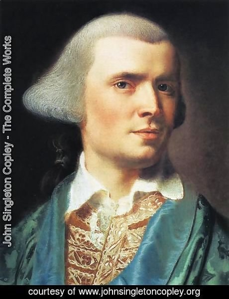 John Singleton Copley - Portrait Of The Artist