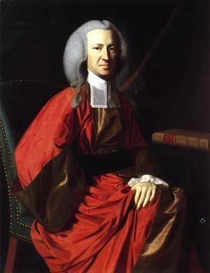 John Singleton Copley - Portrait Of Judge Martin Howard