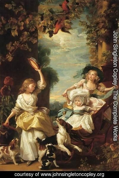 John Singleton Copley - The Three Youngest Daughters Of George III