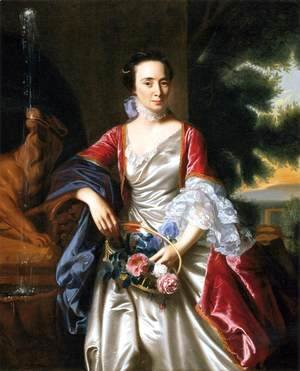 John Singleton Copley - Portrait of Rebecca Boylston
