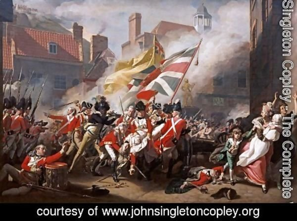 John Singleton Copley - Death of Major Peirson